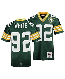 Mitchell & Ness Men's Reggie White Green Bay Packers Authentic Football Jersey