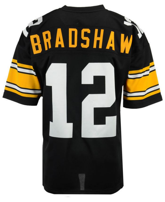 Mitchell & Ness Men's Terry Bradshaw Pittsburgh Steelers Authentic Football Jersey & Reviews - Sports Fan Shop By Lids - Men - Macy's