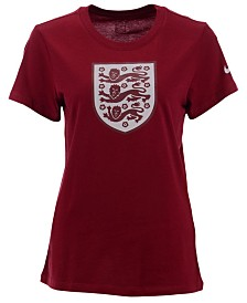 Nike Women's England National Team Evergreen Crest T-Shirt