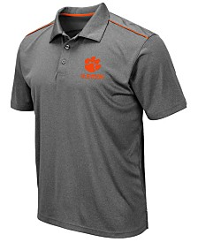 Colosseum Men's Clemson Tigers Eagle Polo