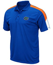 Colosseum Men's Florida Gators Color Block Polo