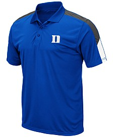 Colosseum Men's Duke Blue Devils Color Block Polo