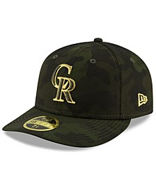 Colorado Rockies Armed Forces Day Low Profile 59FIFTY Fitted Cap