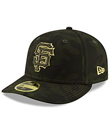 San Francisco Giants Armed Forces Day Low Profile 59FIFTY Fitted Cap