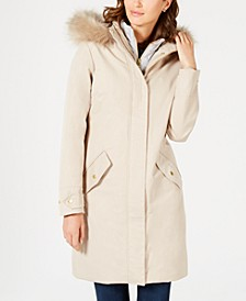 Bute Faux-Fur Hooded Puffer Coat