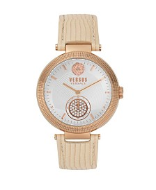 Versus Women's Tan  Strap Watch 20mm