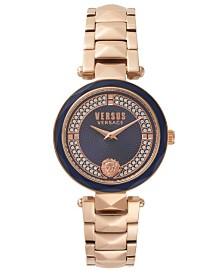 Versus Women's Rose Gold Bracelet Watch 18mm