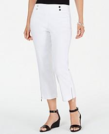 Zip-Hem Capri Pants, Created for Macy's