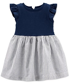 Carter's Baby Girls Cotton Striped Skirt Dress