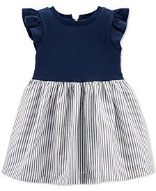 Carter's Baby Girls Cotton Striped Skirt Dress