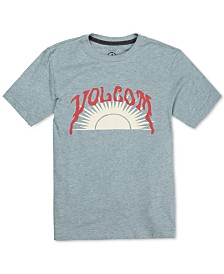 Volcom Big Boys Savage Sun Graphic T-Shirt