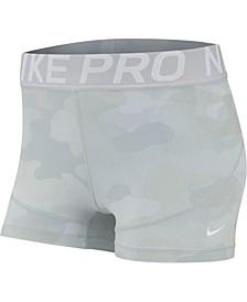 Pro Camo-Print Training Shorts