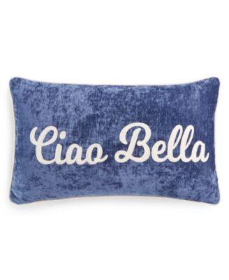 """Ciao Bella 14"""" x 24"""" Decorative Pillow"""