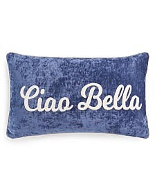 "Lacourte Ciao Bella 14"" x 24"" Decorative Pillow"