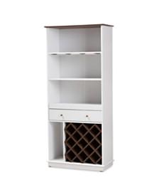 Mattia Wine Cabinet, Quick Ship