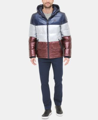Tommy Hilfiger Mens Performance Hooded Field Coat