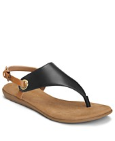 2dad2be04c Aerosoles In Conchlusion T-Strap Thong Sandals