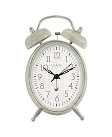 La Crosse Clock Analog Twin Bell Alarm Clock