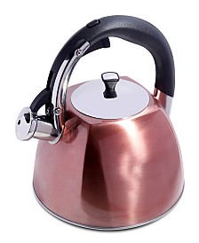 Mr. Coffee Belgrove 2.5 Quart Whistling Tea Kettle