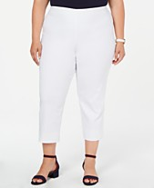 ffbe38d235d Charter Club Plus Size Pull-On Capri Pants, Created for Macy's