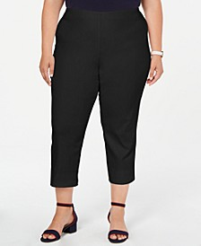 Plus Size Pull-On Capri Pants, Created for Macy's