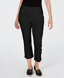 INC Curvy Pull-On Skinny Cropped Pants, Created for Macy's