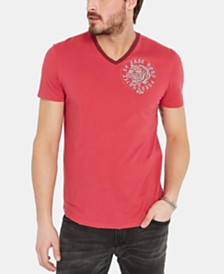 Buffalo David Bitton Men's Tibeach Graphic T-Shirt