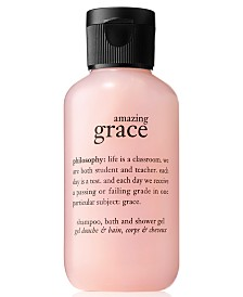 Get More! Receive a FREE Deluxe Amazing Grace Shower Gel 4 oz. with any $50 Philosophy Purchase!