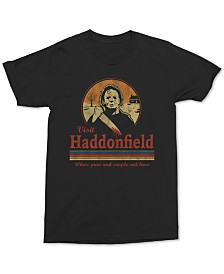 Michael Myers Visit Haddonfield Men's Graphic T-Shirt