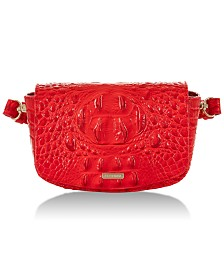 Brahmin Lil Melbourne Leather Belt Bag