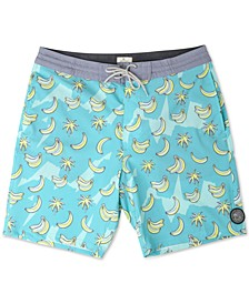 "Men's Bananas Man Laydays 19"" Swim Trunk"