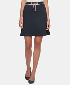 Tommy Hilfiger Pull-On A-Line Skirt
