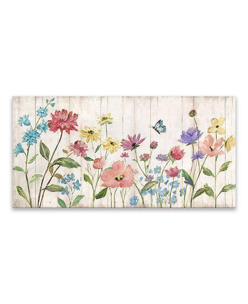 Artissimo Designs Wildflower Flutter On Wood Wood, Mdf Box