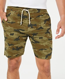 Univibe Men's Skyros Camo Knit Shorts