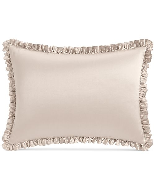 Hotel Collection Classic Flourish Ruffled King Sham, Created for Macy's