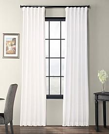 "Exclusive Fabrics & Furnishings Taffeta 50"" x 108"" Curtain Panel"