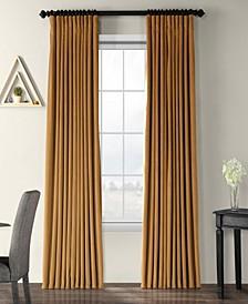 "Signature Extra Wide Blackout Velvet 100"" x 108"" Curtain Panel"