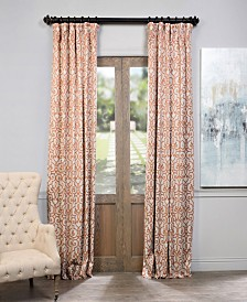 "Exclusive Fabrics & Furnishings Nouveau Blackout 50"" x 108"" Curtain Panel"