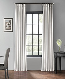 "Blackout Vintage Textured 50"" x 96"" Curtain Panel"