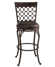 Brescello Swivel Counter Height Stool