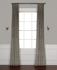 "Heritage Plush Velvet 50"" x 96"" Curtain Panel"