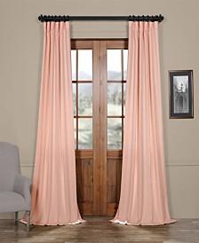 "Exclusive Fabrics & Furnishings Semi Sheer 50"" x 108"" Curtain Panel"