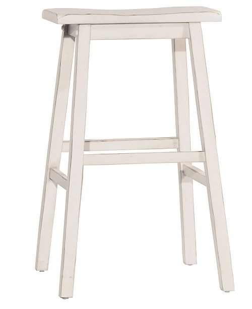 Hillsdale Moreno Non-Swivel Backless Bar Height Stool