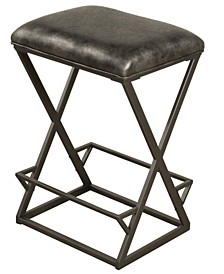 Kenwell Backless Non-Swivel Counter Height Stool