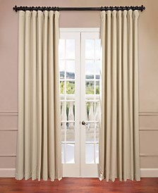 "Exclusive Fabrics & Furnishings Extra Wide Blackout 100"" x 108"" Curtain Panel"