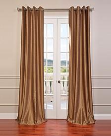 """Grommet Blackout Vintage Textured 50"""" x 108"""" Curtain Panel"""