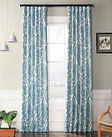 "Tea Time Blackout 50"" x 108"" Curtain Panel"