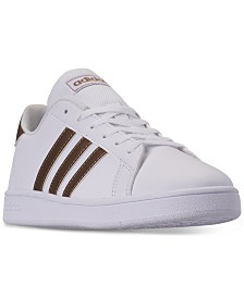 adidas Big Girls' Grand Court Casual Sneakers from Finish Line