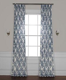 "Fresco Printed Sheer 50"" x 96"" Curtain Panel"