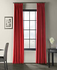 "Exclusive Fabrics & Furnishings Signature Blackout Velvet 50"" x 84"" Curtain Panel"